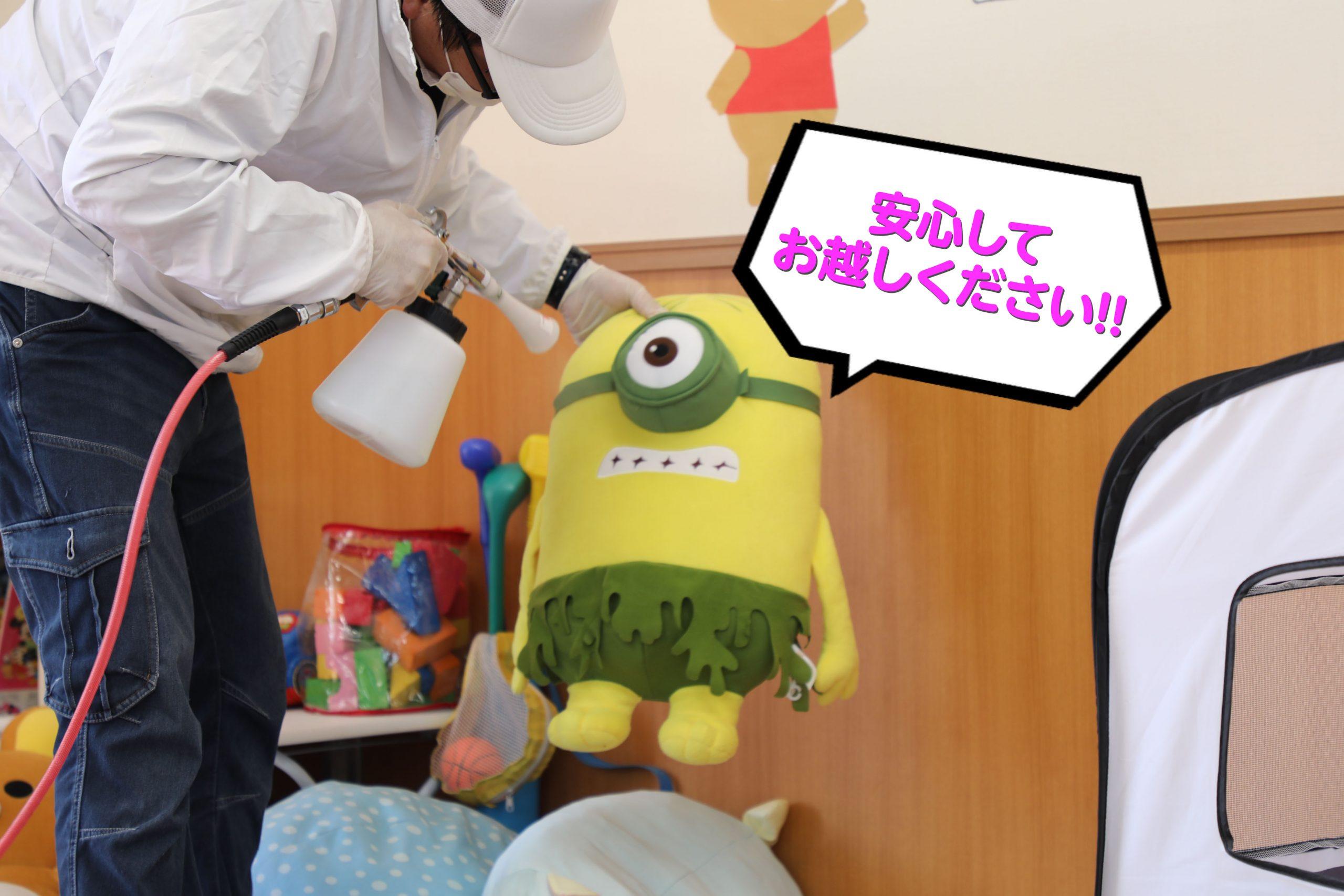 KOWA自動車販売 全店舗除菌コーティングを行いました!!
